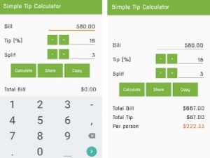 5 Best Android Tip Calculator Apps